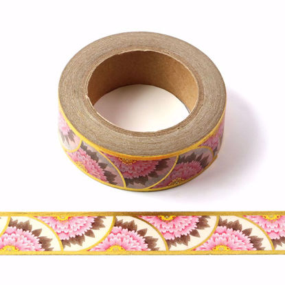 Picture of Peony Foil Washi Tape