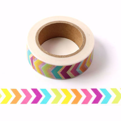 colorful arrows washi tape