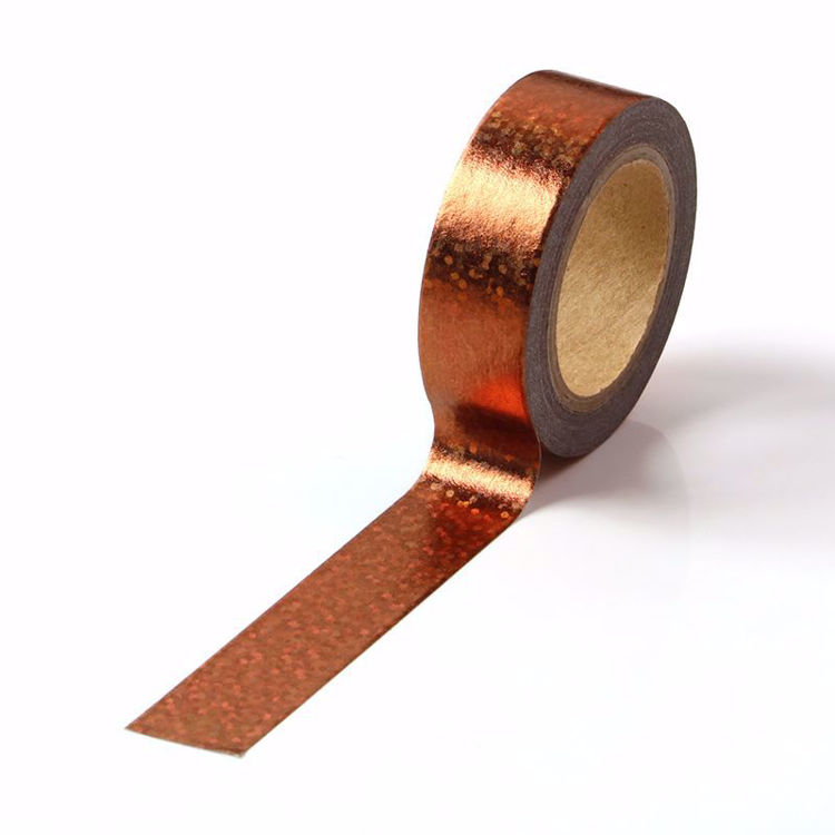 Picture of Brown Holographic Foil Washi Tape
