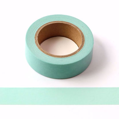 mint green washi tape