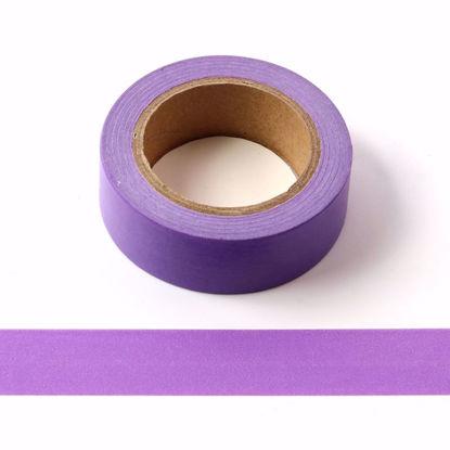 bright purple washi tape