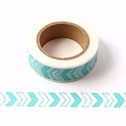 blue arrows washi tape