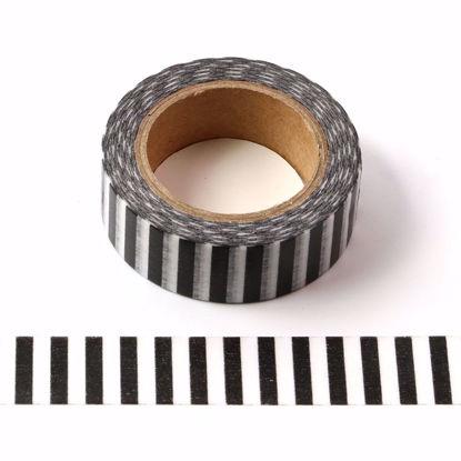 black stripe washi tape