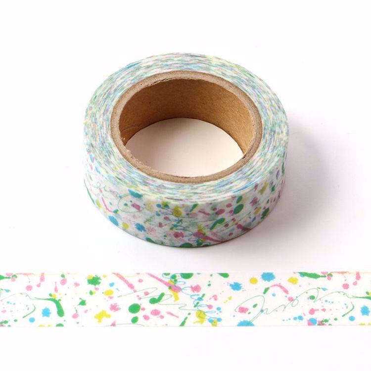 Colorful Small tadpole  washi tape
