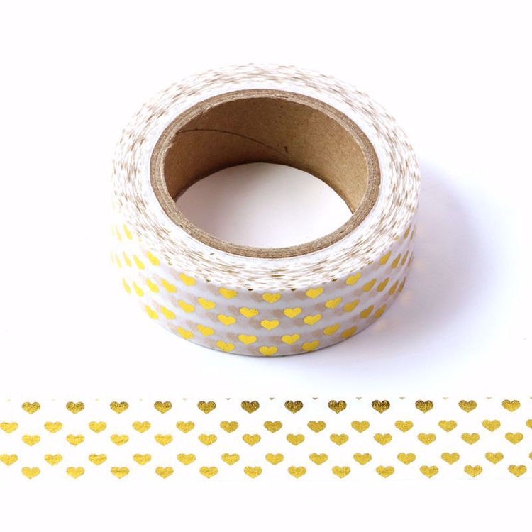 Picture of Heart Foil Washi Tape