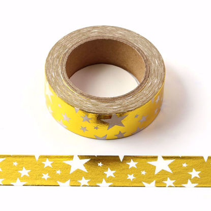 Picture of Star Foil Washi Tape