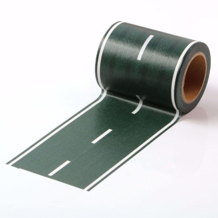 图片 马路印刷和纸胶带