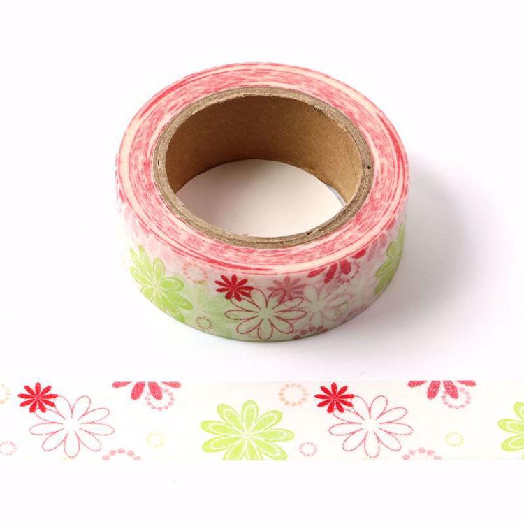 图片 花朵设计款式和纸胶带