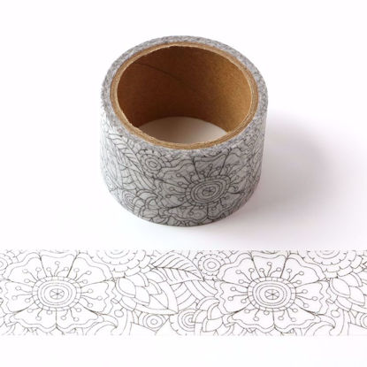 Flower Coloring Tape