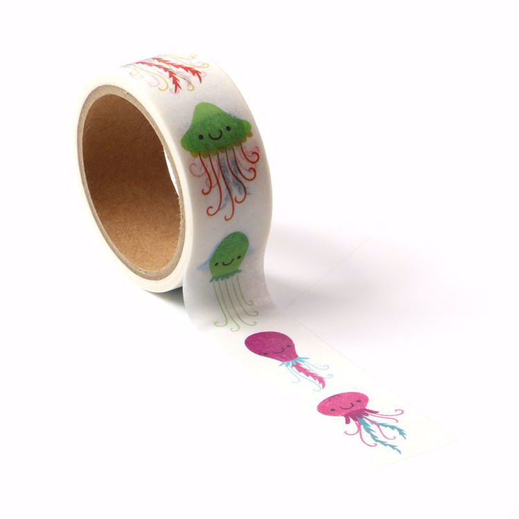 Many kinds of Jellyfish Perforated tear tape