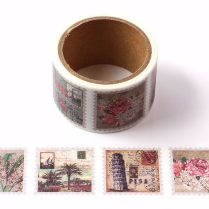 Many kinds of Stamps Perforated tear tape