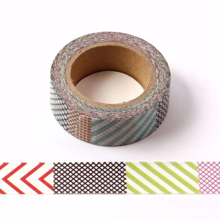 Cool lines printing washi tape