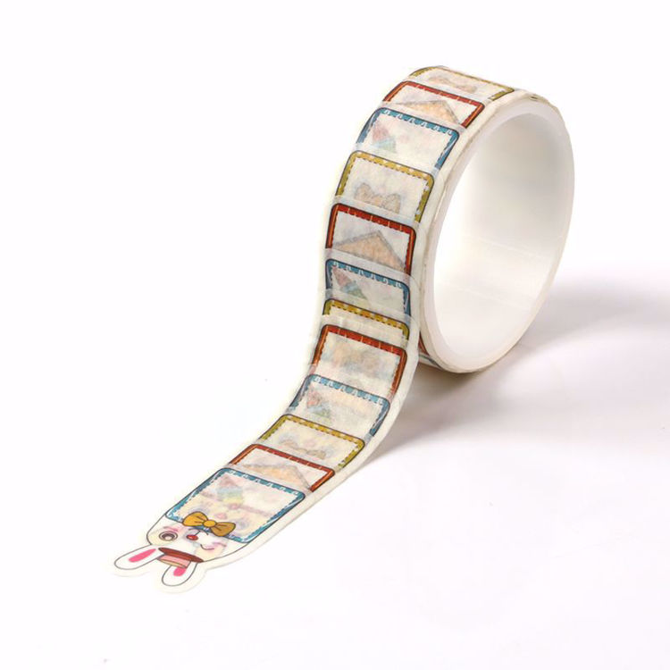 Rabbit Memo stickers roll washi tape