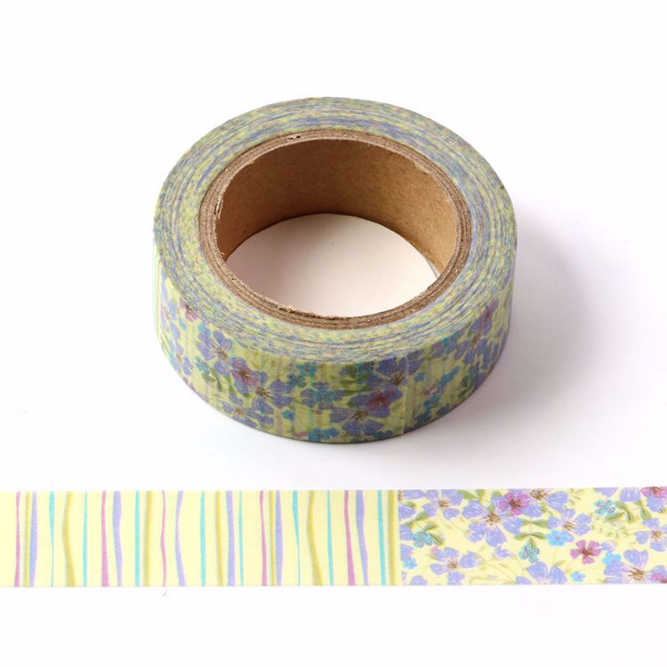 Tree pattern flowers washi tape