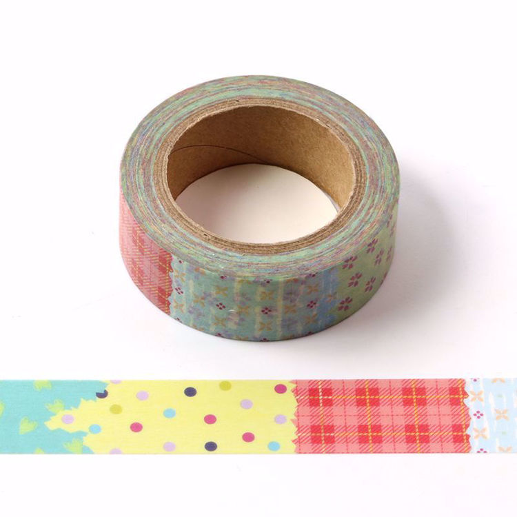 Different color printing washi tape