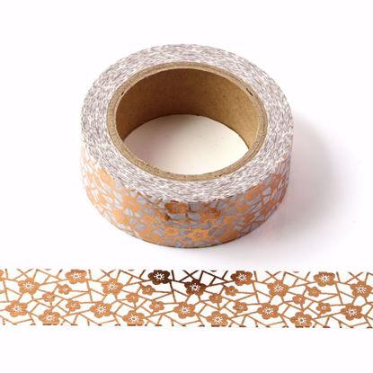 Little Flower Copper Foil Washi Tape