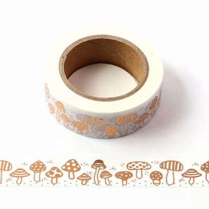 Mushroom Copper Foil Washi Tape
