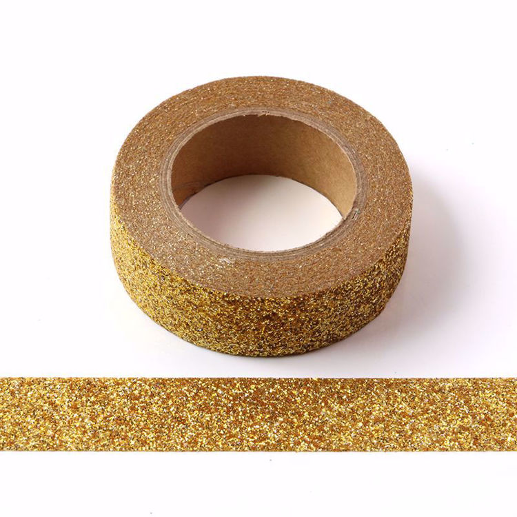 Picture of Laser Golden Sparkle Washi Tape