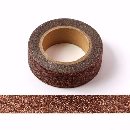 Picture of Brown Sparkle Washi Tape