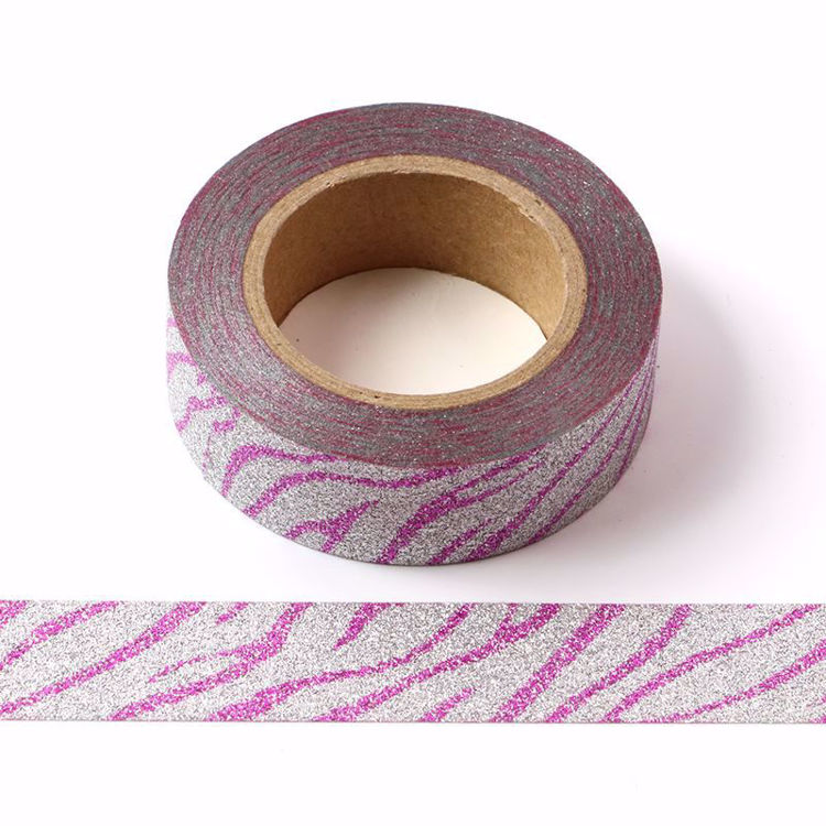Picture of Pink Crack Glitter Tape