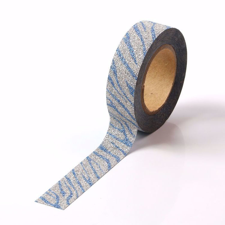 Picture of Blue Crack Glitter Tape