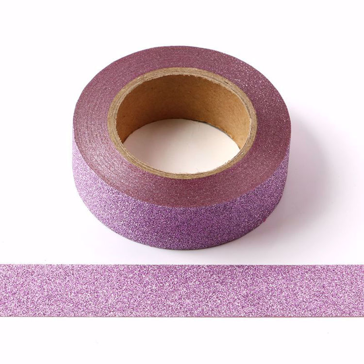 Picture of Pink Purple Glitter Tape