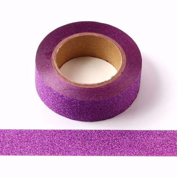 Picture of Purple Glitter Tape
