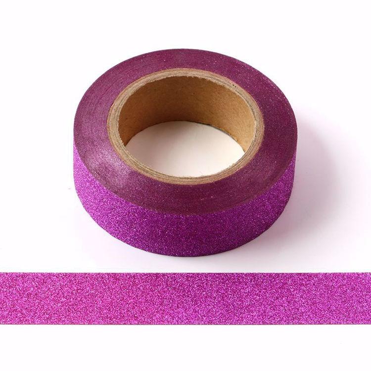Picture of Dark Pink Glitter Tape