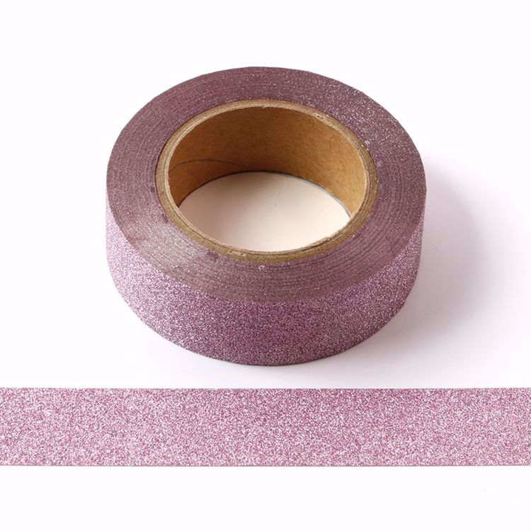 Picture of Custom Pink Glitter Tape