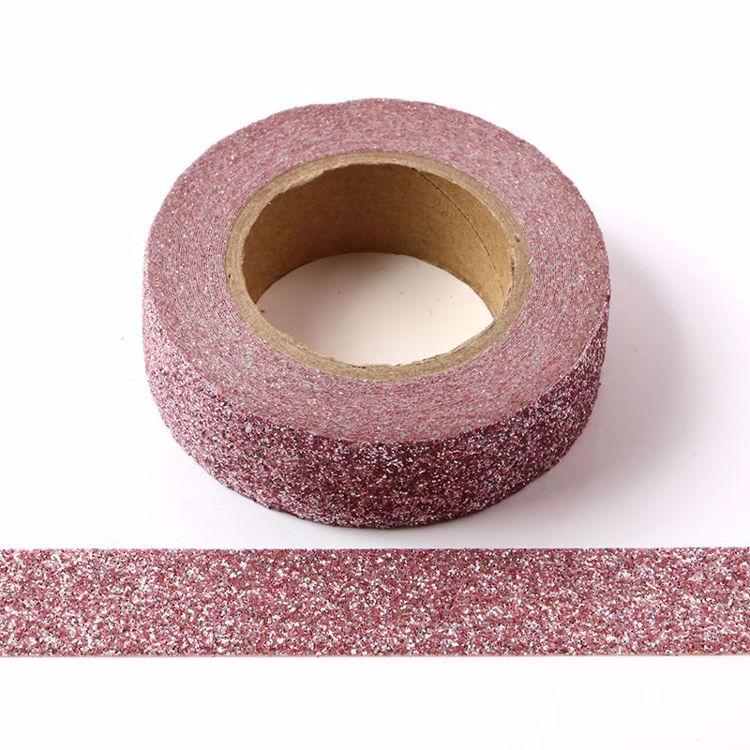 violet glitter powder tape