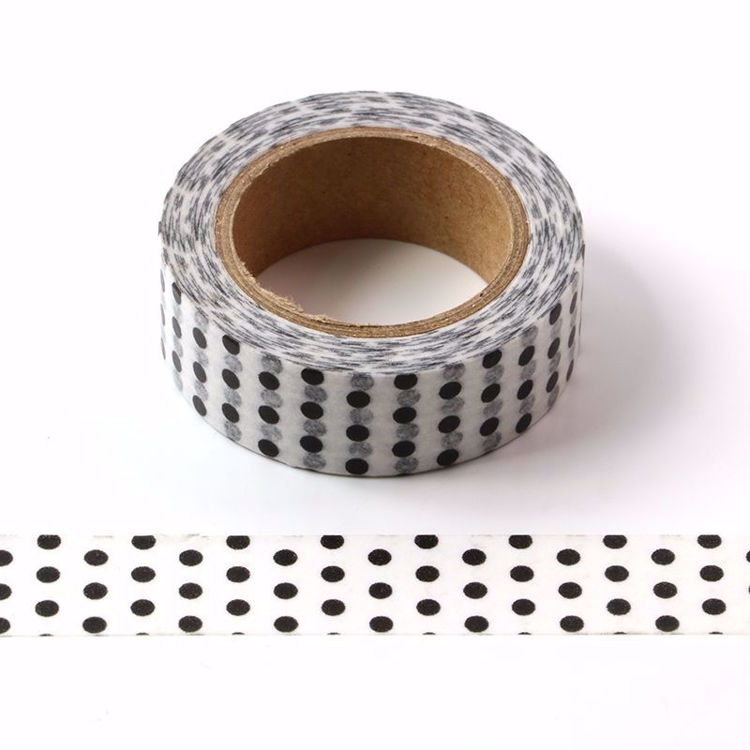 black dots washi tape