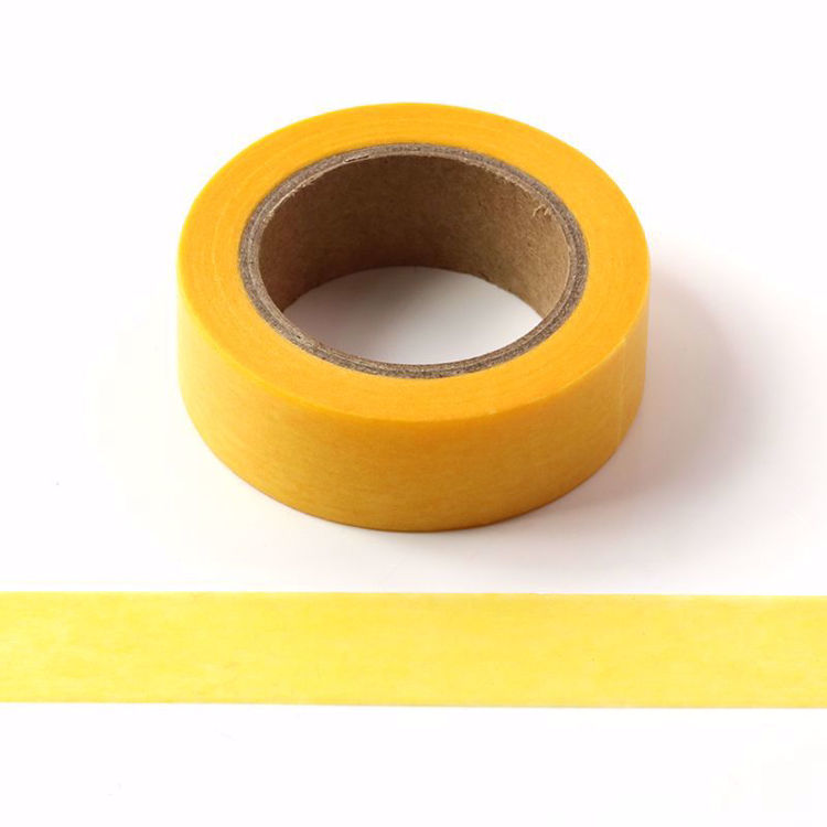 yellow original washi tape