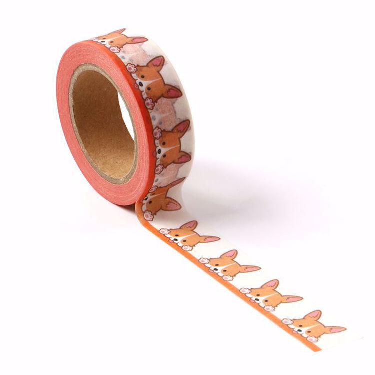 Corgi cute dog printing washi tape