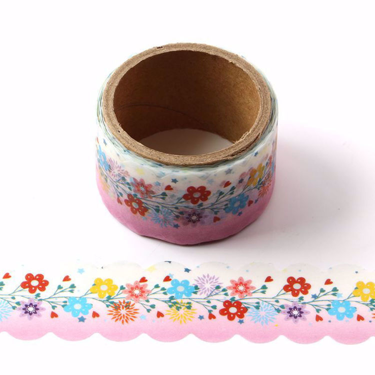 Flowers die cutting washi tape