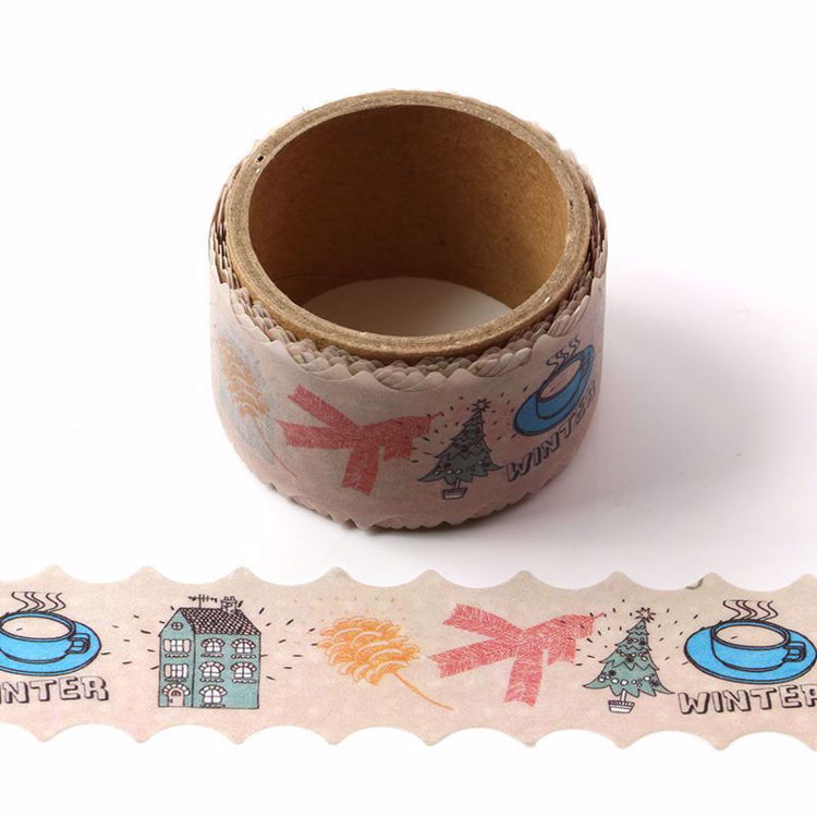 Party printing die cut washi tape