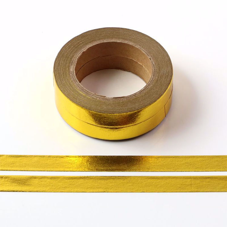 8mm Glod foil washi tape