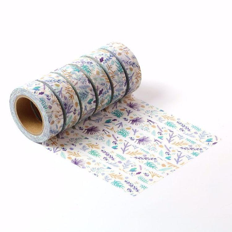 Flowers series printing washi tape set