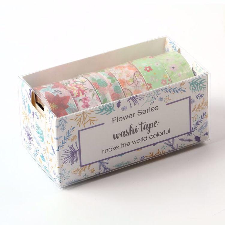 Summer design flowers printing washi tape set