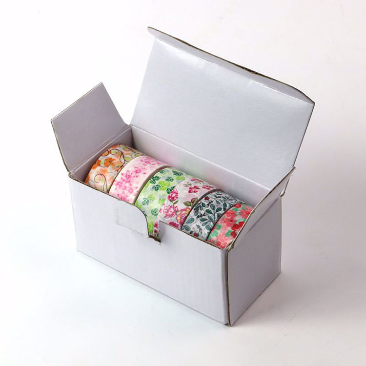 6 rolls washi tape package