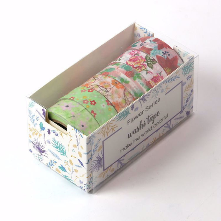 flowers series washi tape package box
