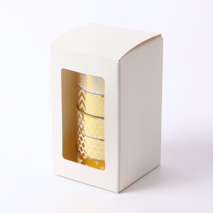 6 rolls washi tape package box