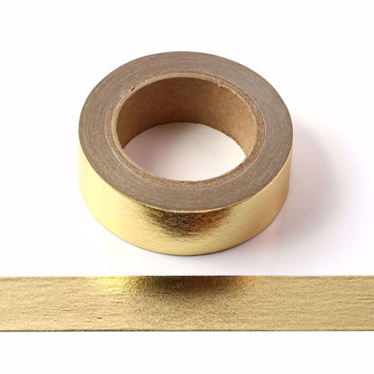 Picture of Solid Gold Foil Washi Tape