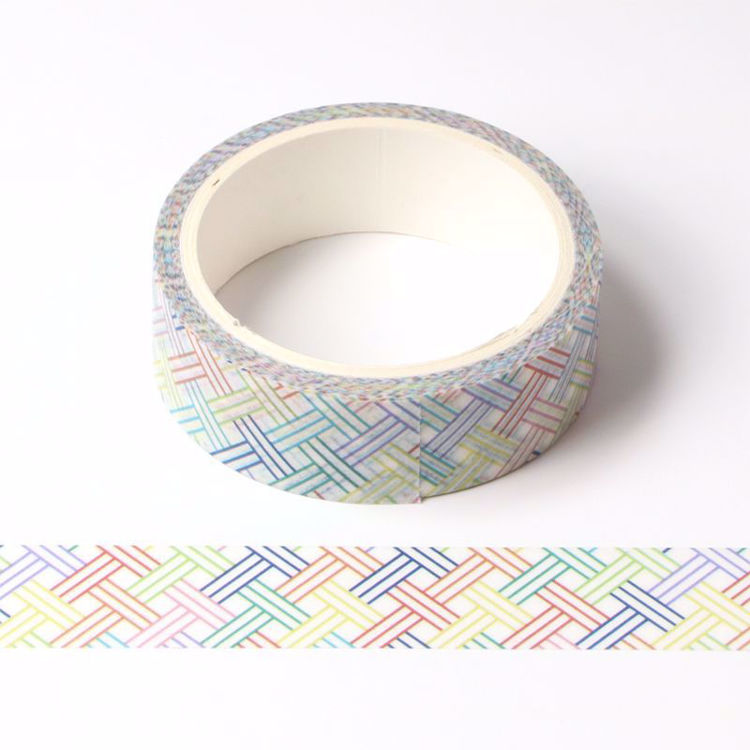Colorful belt printing washi tape