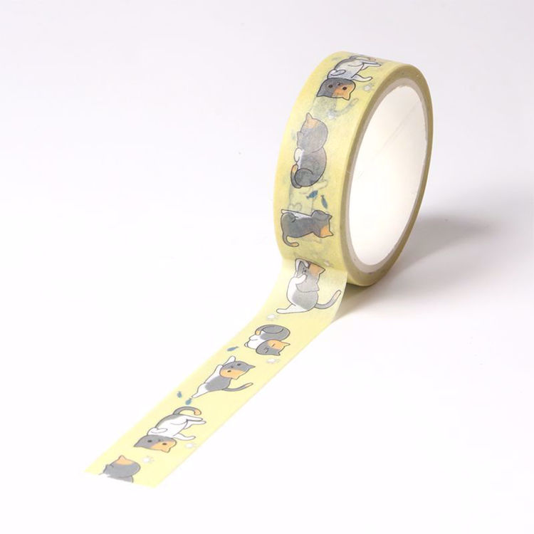 Lovely cat printing washi tape