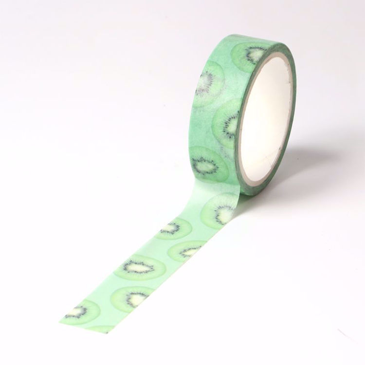 Kiwi printing washi tape