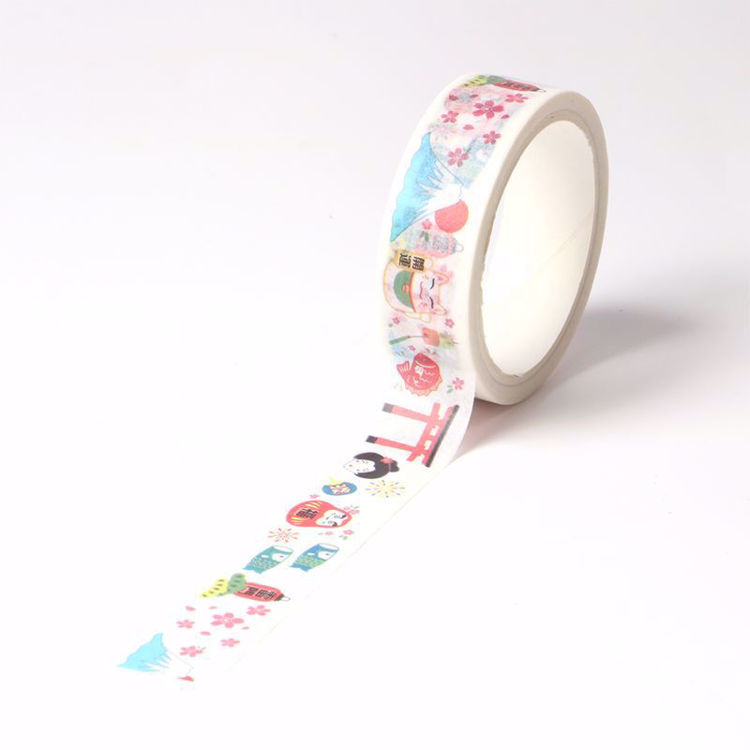 Japanese style printing washi tape