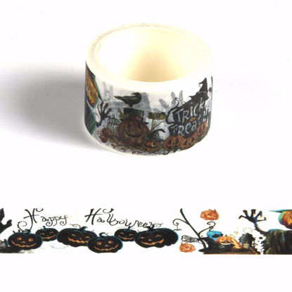 30mm halloween design printing washi tape
