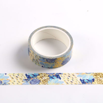 Foil art sunflower washi tape