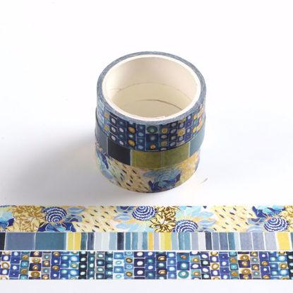 Art design gold foil washi tape sets