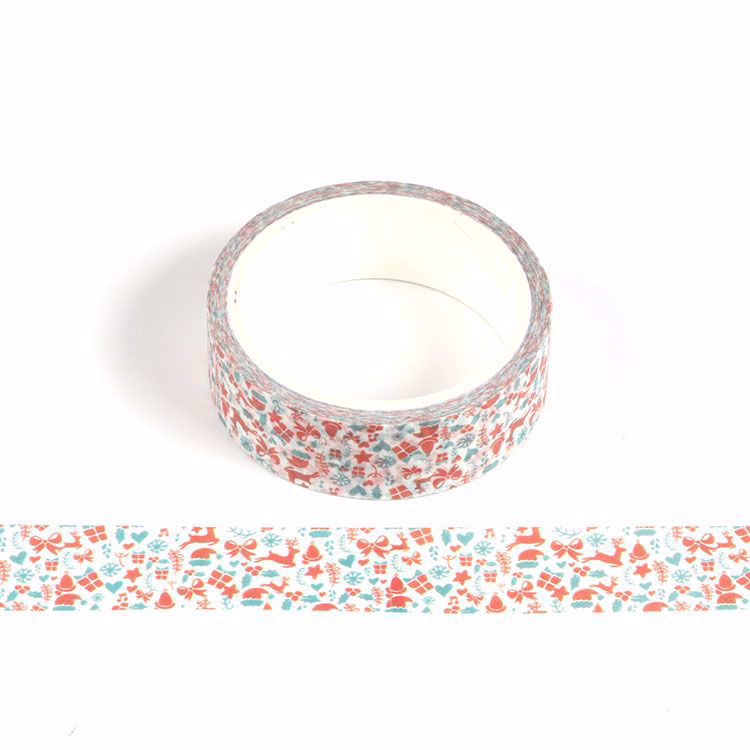 Christmas gift printing washi tape